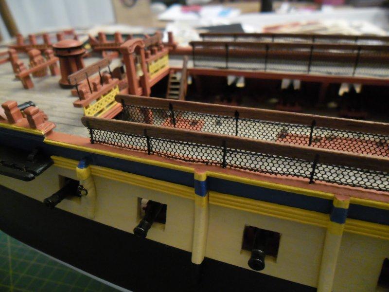 construction de l'hermione de chez Artesania  - Page 6 Hermio15
