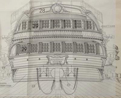 Le Bonhomme Richard au 1/48e Kit de ZHL model - Page 7 Image120