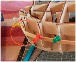 construction de l'hermione de chez Artesania  - Page 2 Image211