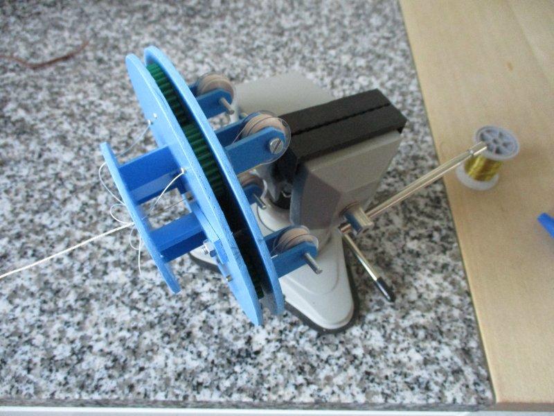Machine à commettre les cordages par Fred P. Machin33