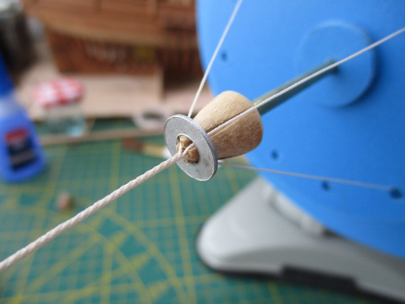 Machine à commettre les cordages par Fred P. Machin40