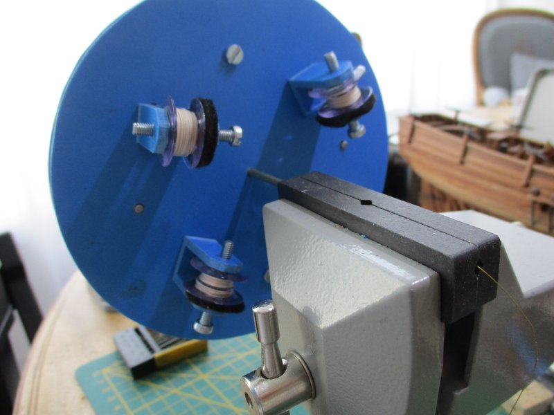 Machine à commettre les cordages par Fred P. Machin43