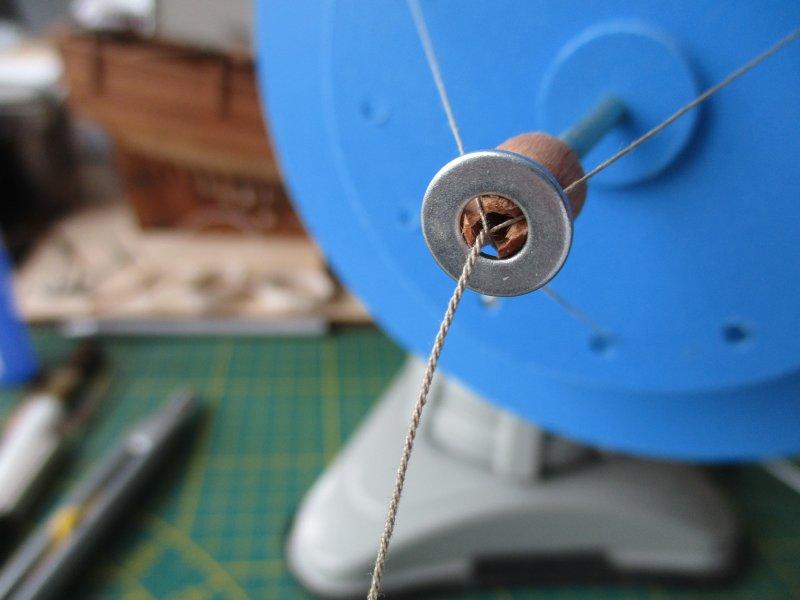 Machine à commettre les cordages par Fred P. Machin44