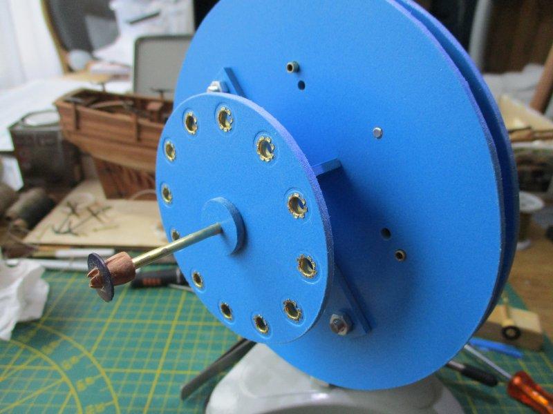Machine à commettre les cordages par Fred P. Machin45