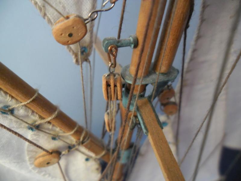 l'amarante corvette de 1747  sur plan de Mr Delacroix  - Page 16 Sam_6010