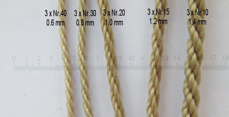 Vente de cordages de gréement Taille11