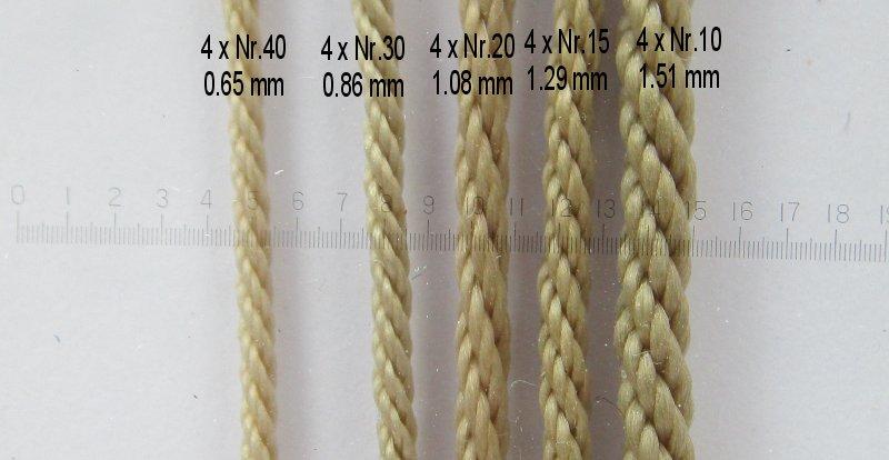Vente de cordages de gréement Taille12