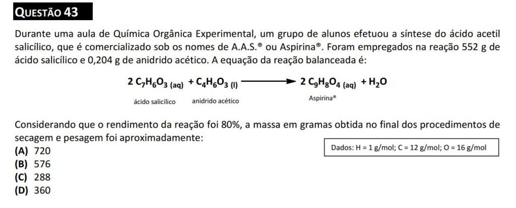 Quimica estequiometria  Questz10
