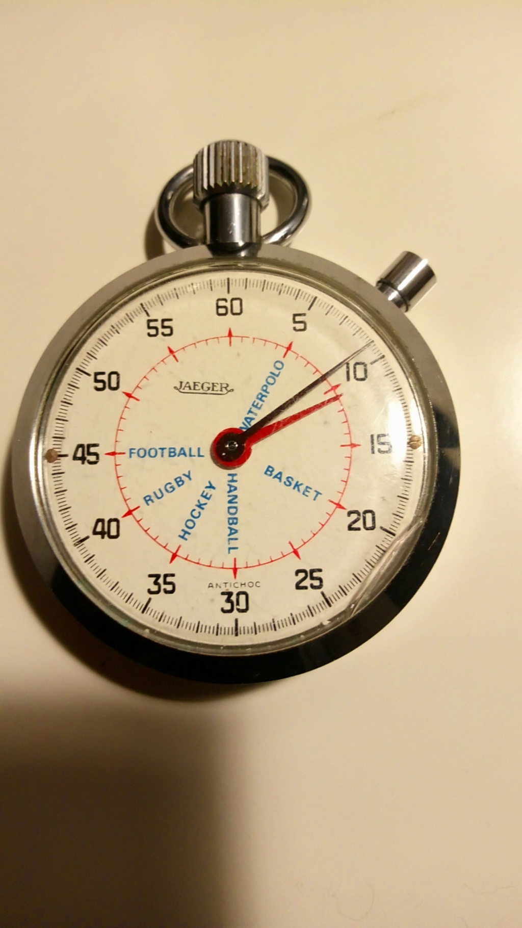 Jaeger - Chronometre arbitre jaeger Chrono11