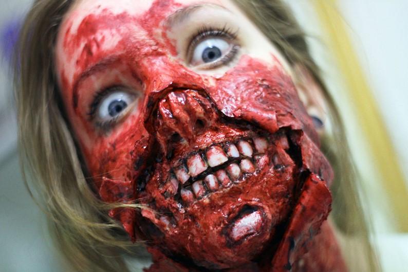 Maquiagem Estilo Terror 29191512