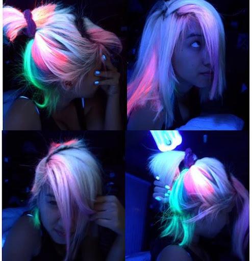 Cabelo Neon 57275810