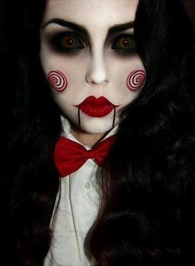 Maquiagem Estilo Terror 854a2712
