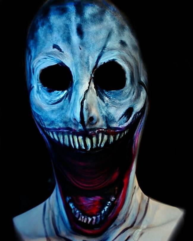 Maquiagem Estilo Terror Artist10