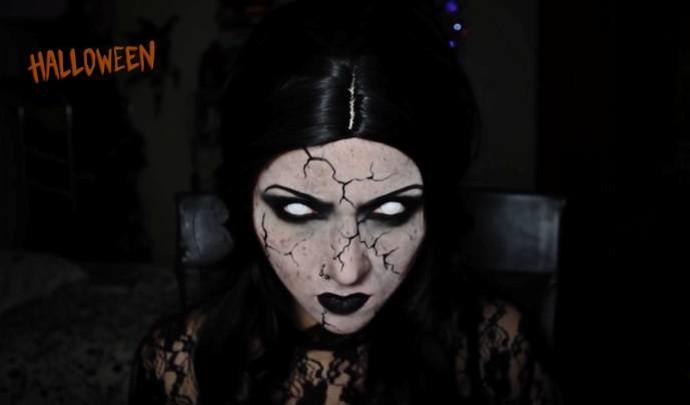 Maquiagem Estilo Terror Bruxa11