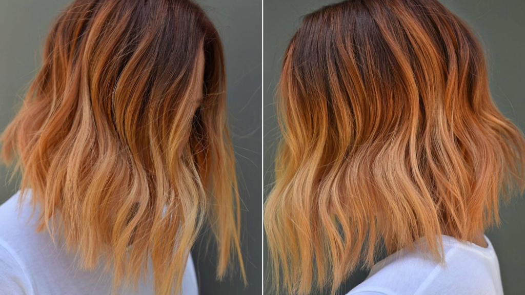 Ombre Hair  Ginger10