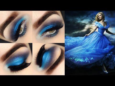 Maquiagem inspirada no Vestido Da Cinderela Hqdefa14