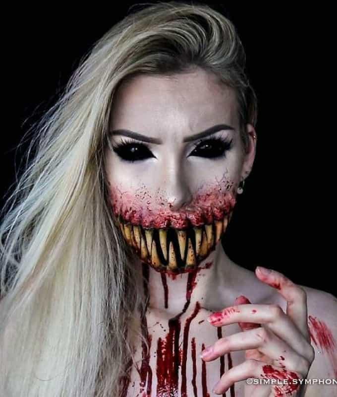 Maquiagem Estilo Terror Ju-hal10