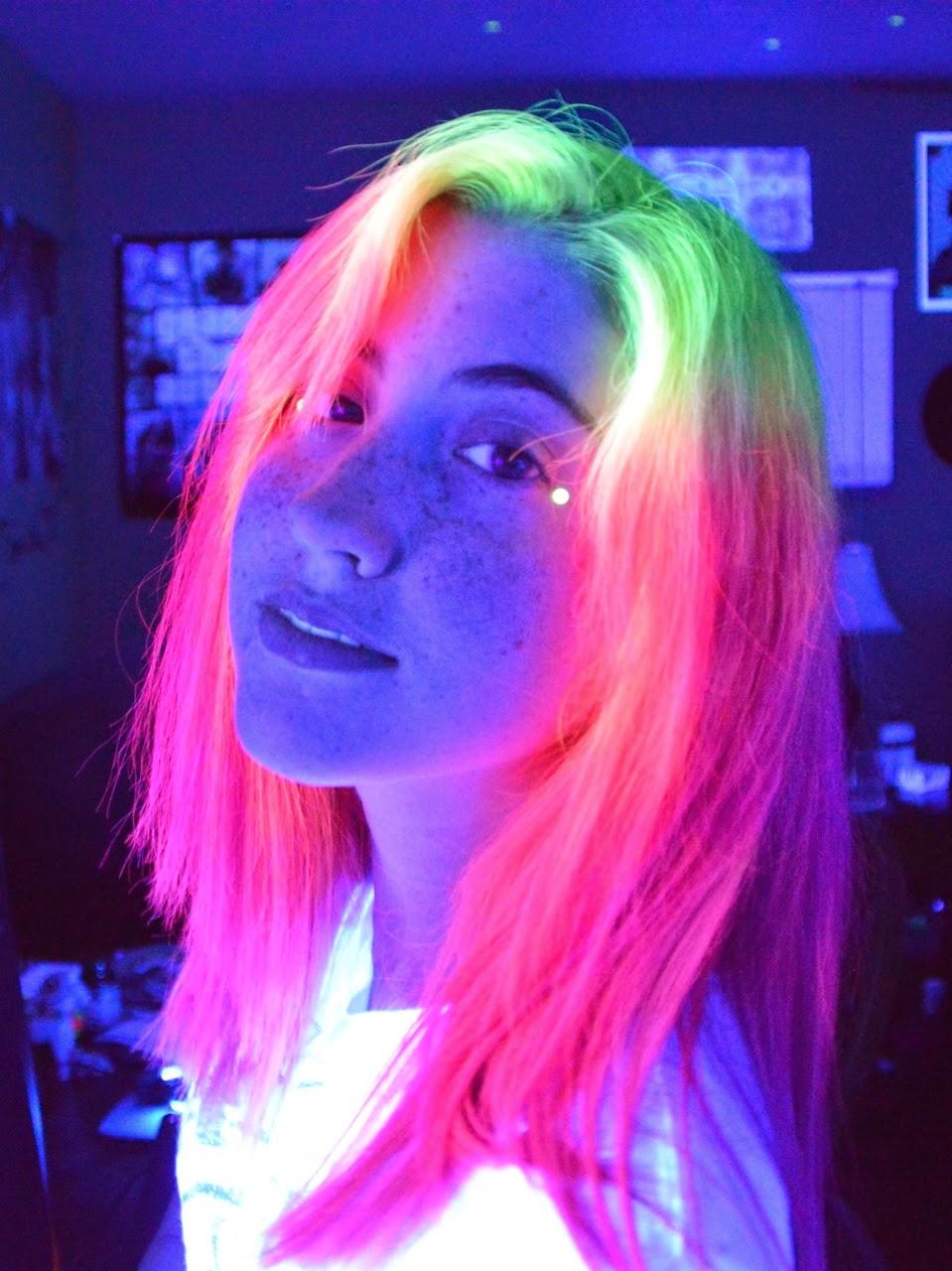 Cabelo Neon Tumblr10