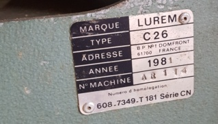 Renovation Lurem C260 N 2 Moteurs  Luremp11