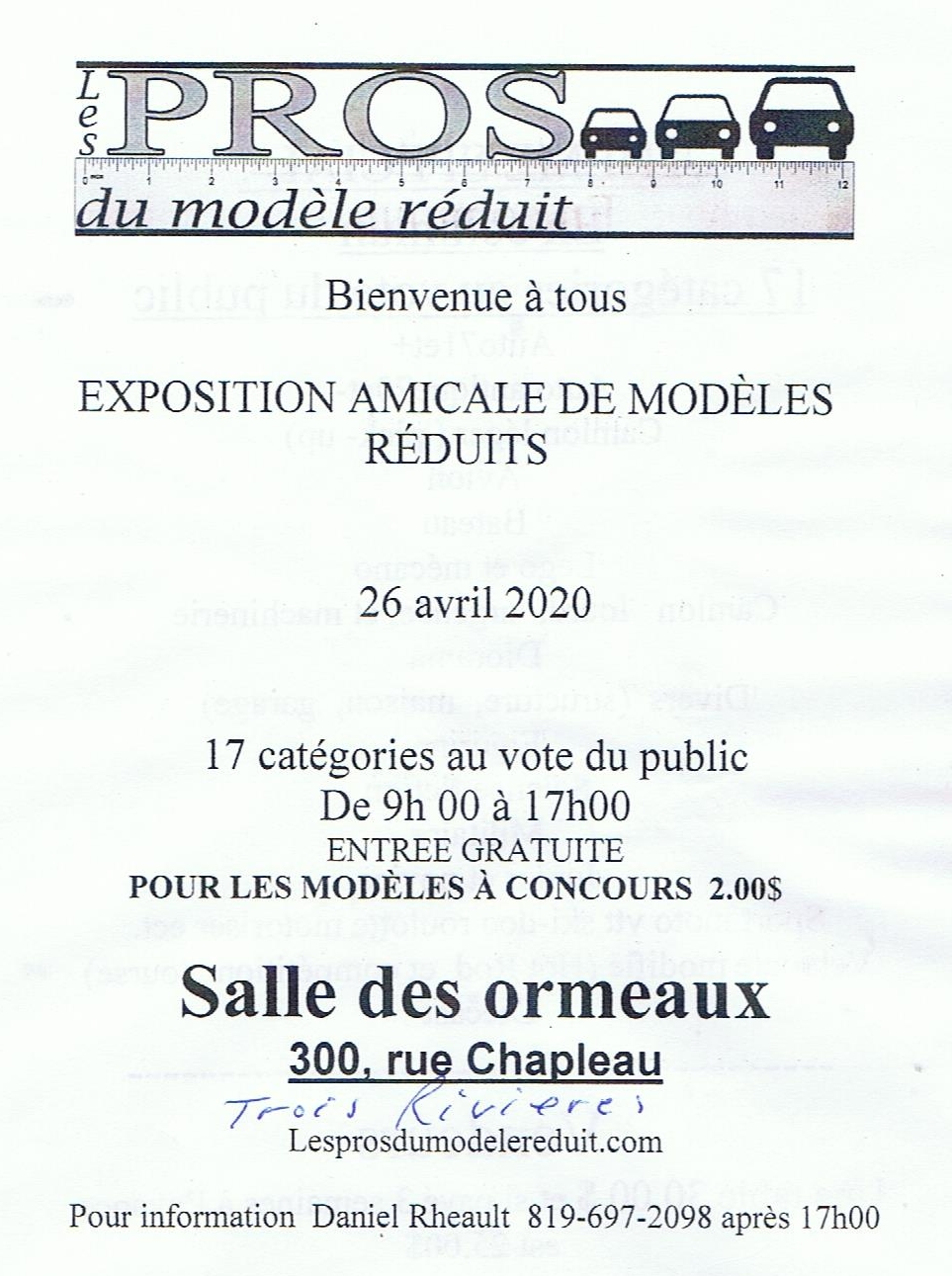 Expo Les Pros du Modèle Réduit 2020 00115