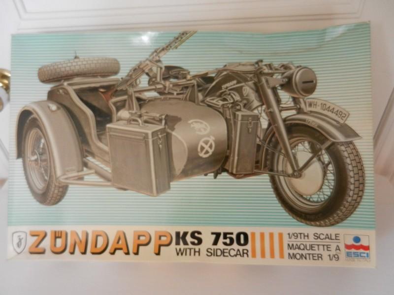 Moto allemande Zundapp KS750 0313