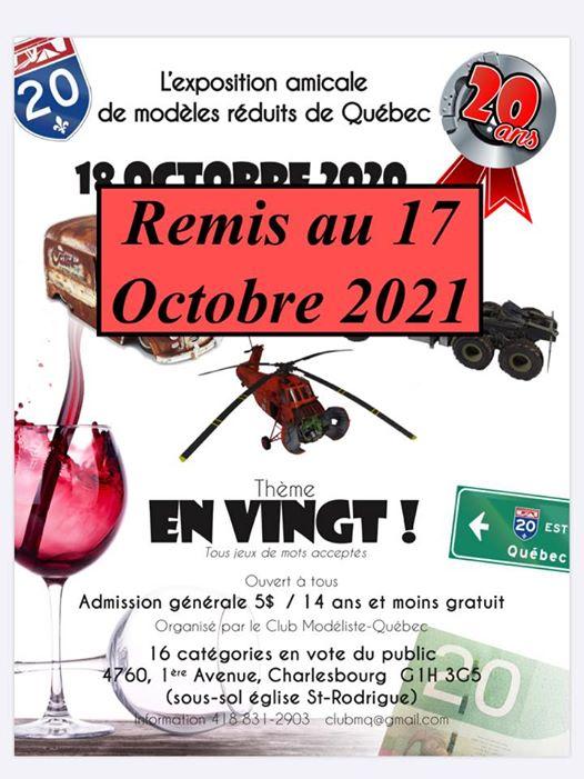 Exposition Club Modélistes Québec 11815610