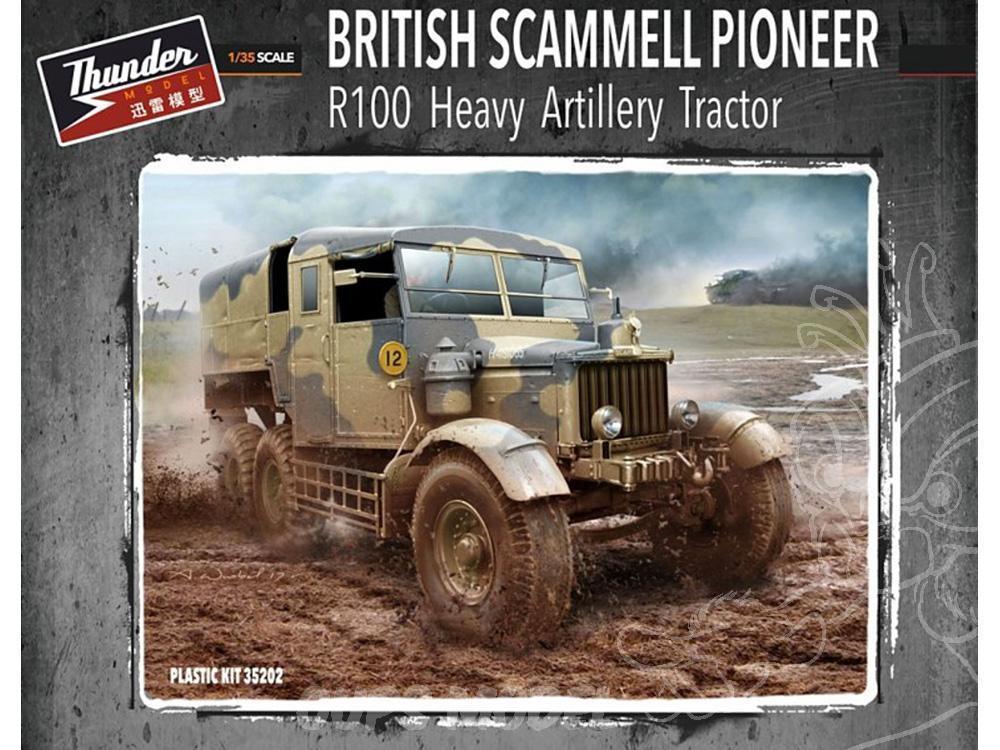 Scammel Pioneer + 30 ton trailer + Valentine MK-II Thunde10
