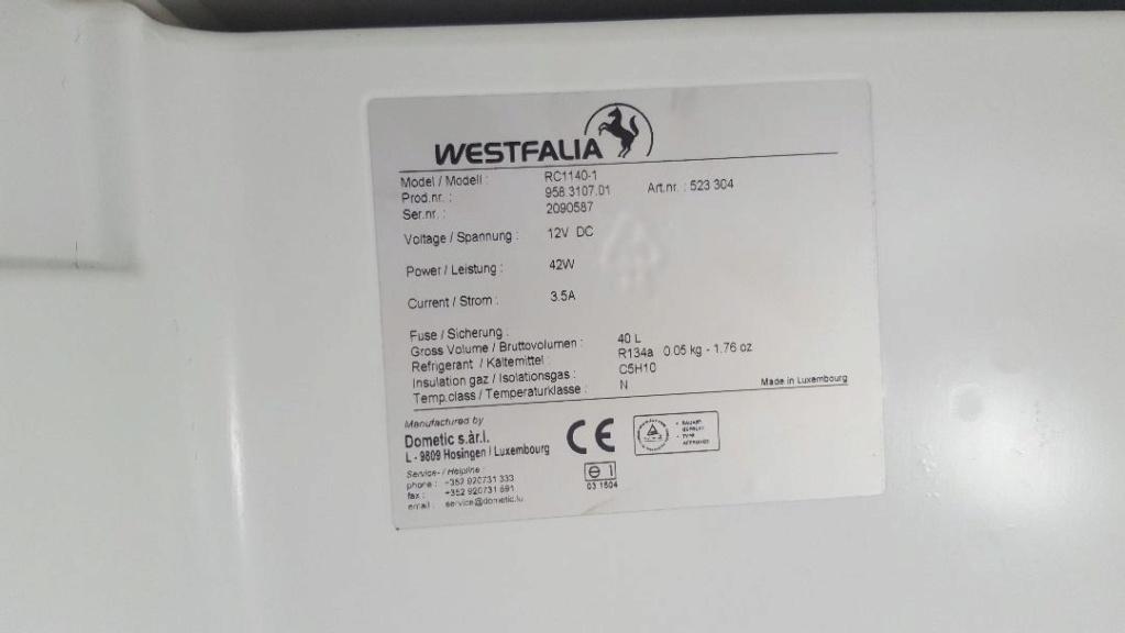 Autonomie batterie sur Westfalia Columbus Frigo_11