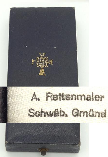 Authentification croix des mères et son écrin  Nouvel19