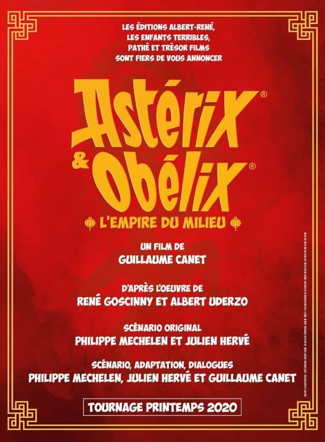 """""""Astérix et Obélix: L'empire du milieu"""" de Guillaume Canet 73274410"""