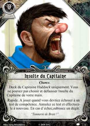 Tintin à Arkham Insult10