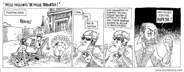Tintin à Arkham Popeye10