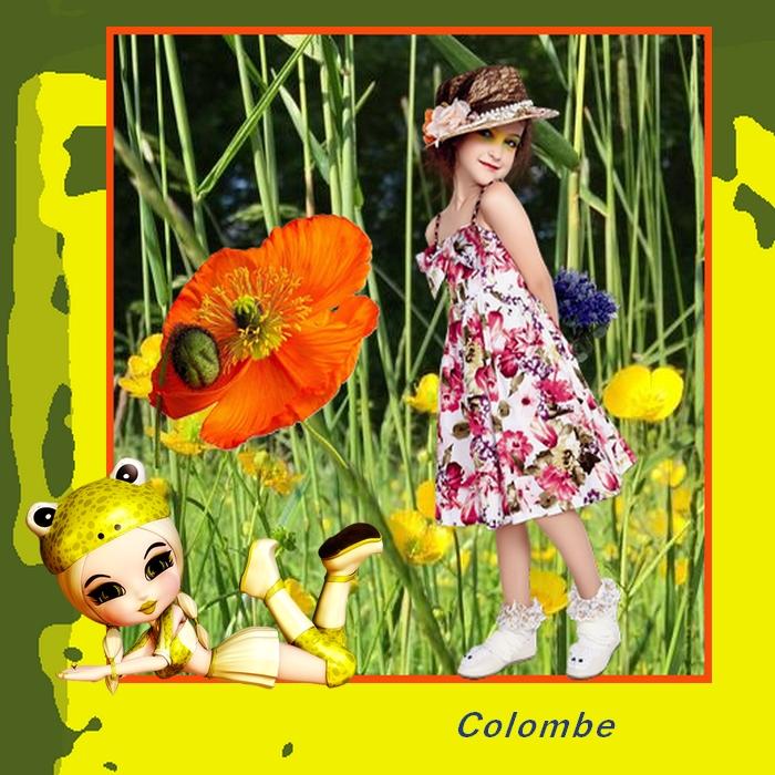Défi fillette bouquet Diane111