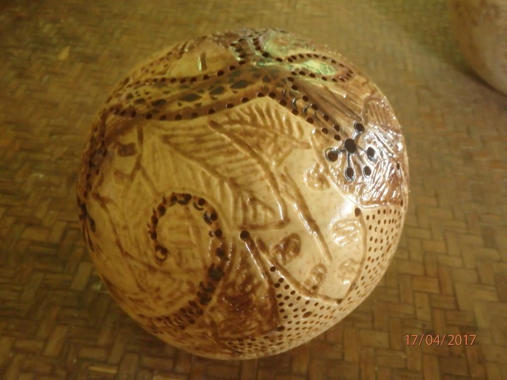 Poncer, polir du bois (très) tendre P4171010