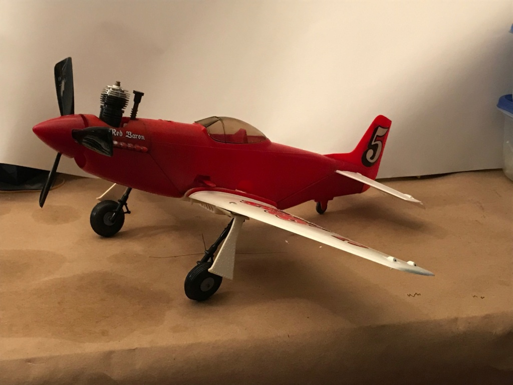 Cox Red Baron Mustang Restomod Img_4012