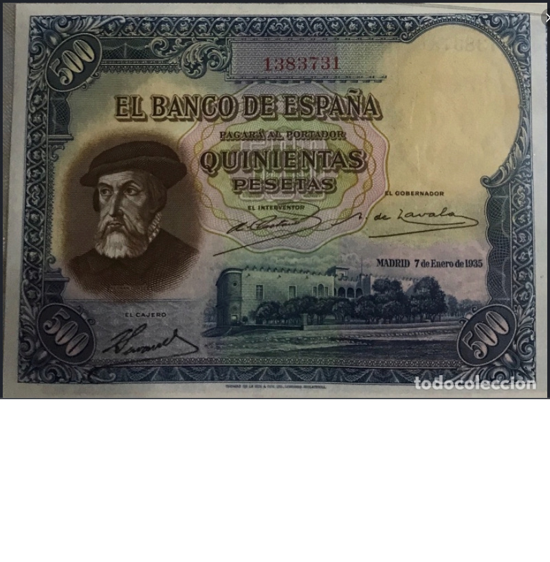Estadísticas e Historia - 500 Pesetas 1935 (Hernán Cortés) - Página 4 13837310