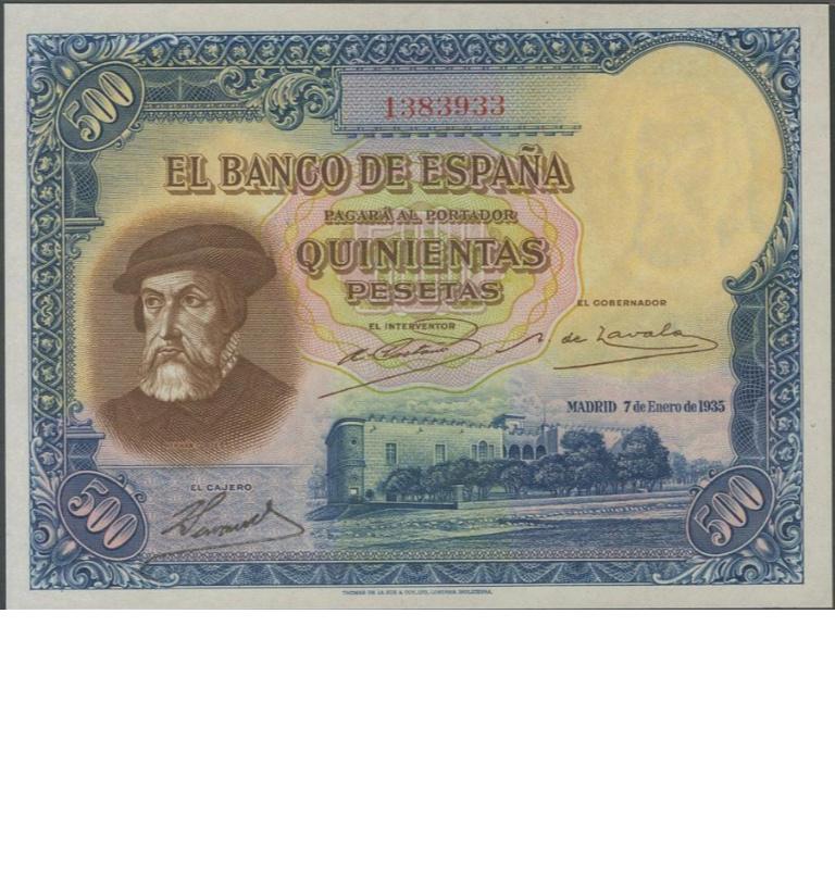 Estadísticas e Historia - 500 Pesetas 1935 (Hernán Cortés) - Página 4 13839310