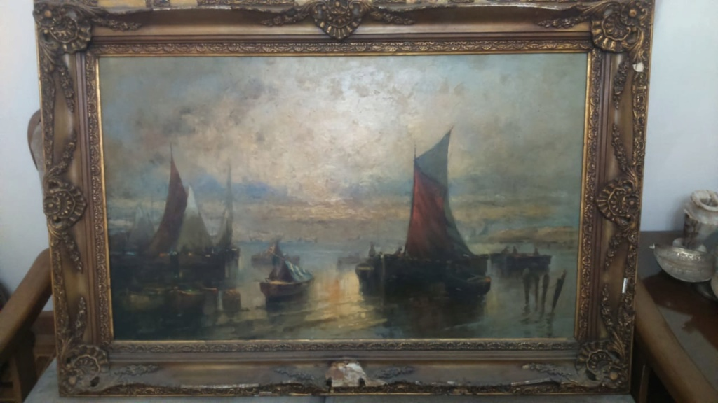 بيع وشراء لوحات فنيه قديمه  - صفحة 2 Img-2024