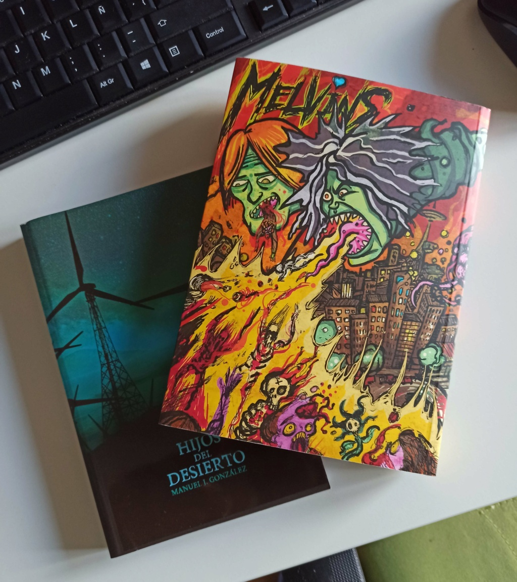 La Hilarante Historia de Melvins - Noviembre [2020] - nuevo libro de Hank - - Página 12 Img_2018
