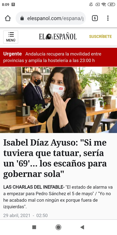 Isabel Díaz Ayuso - Página 12 Screen10