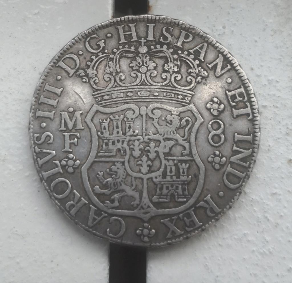 8 Reales de tipo columnario de Carlos III, año 1767. Img_2015