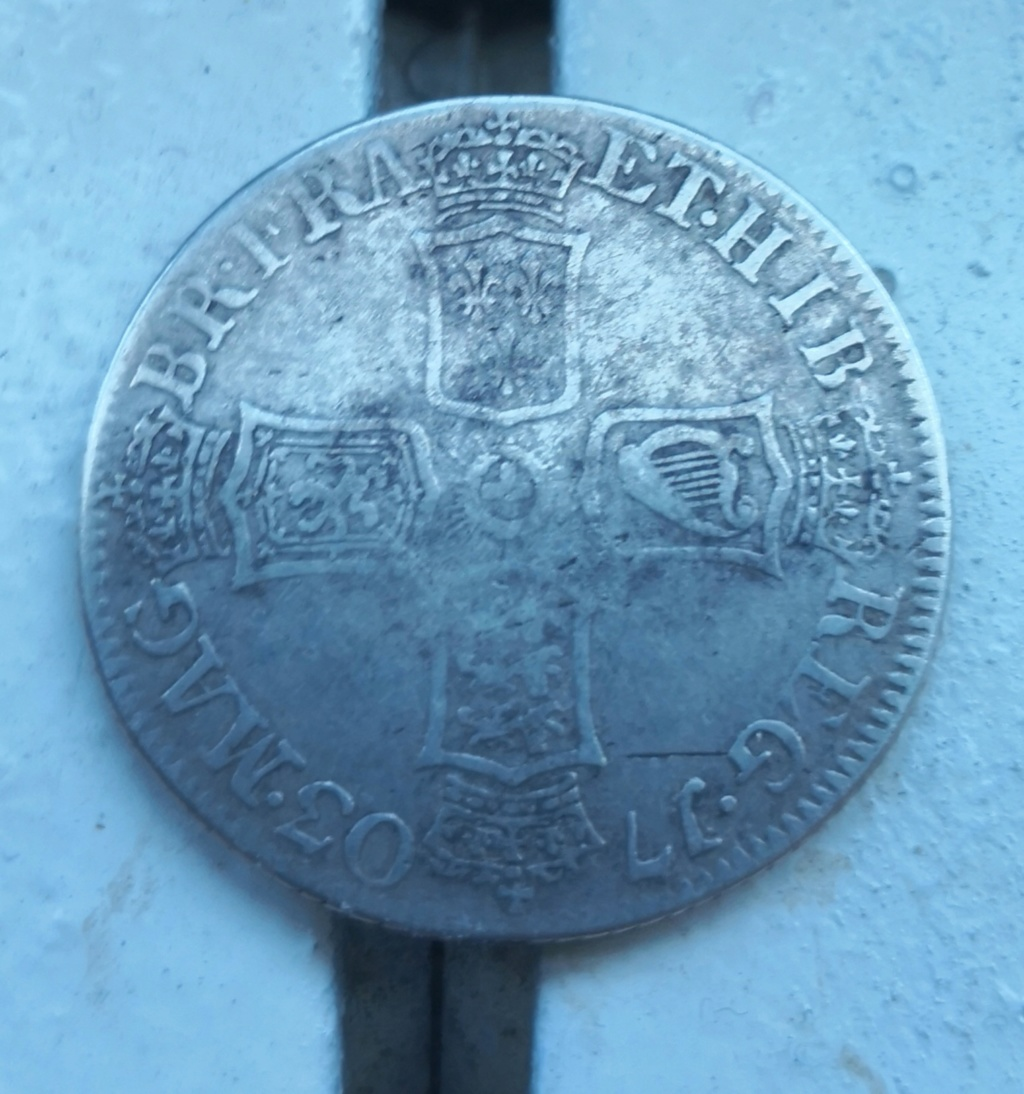 1 shilling Anne 1703 vigo.  Img_2023