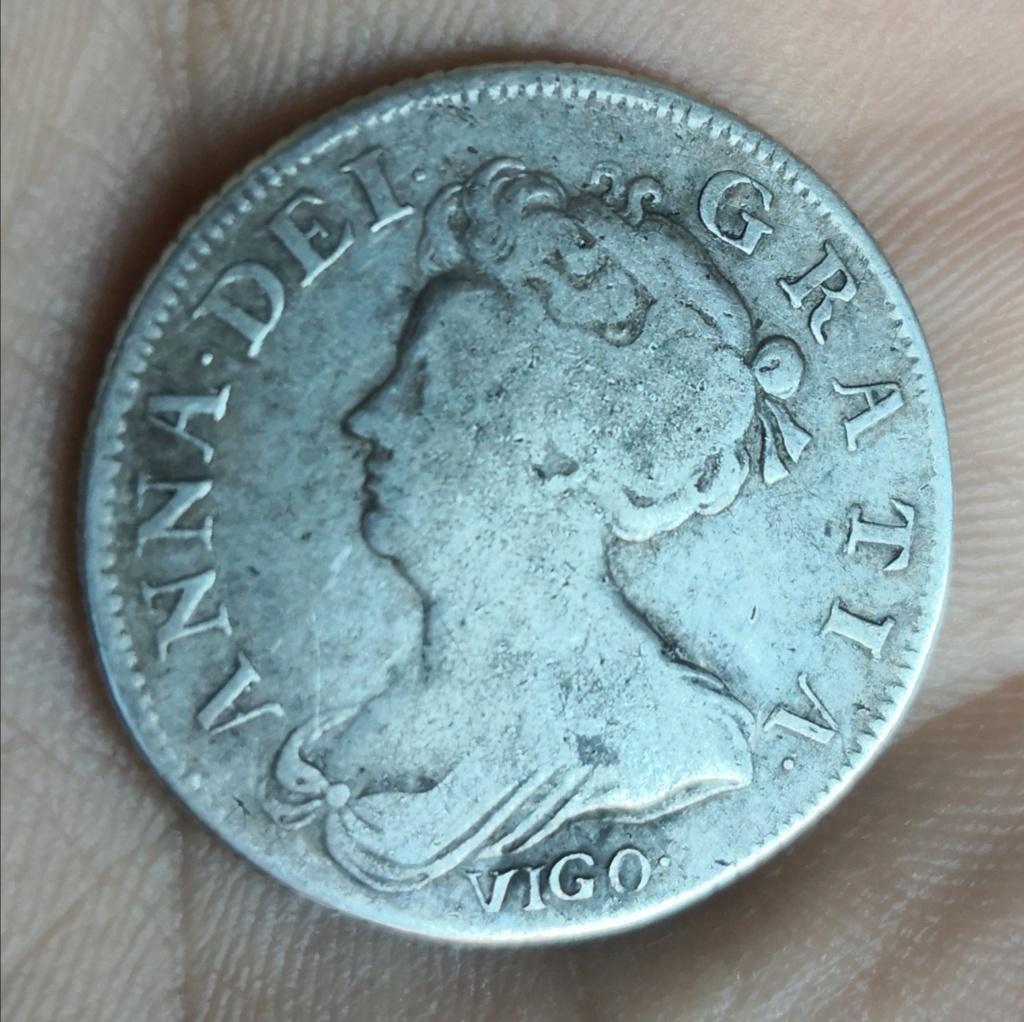1 shilling Anne 1703 vigo.  Img_2026