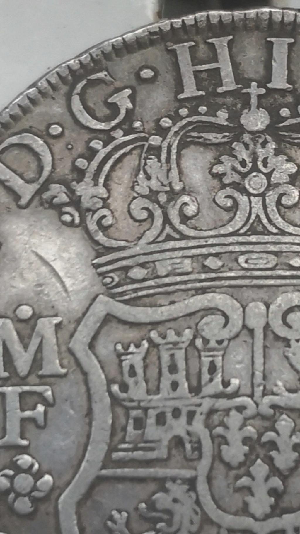 8 Reales de tipo columnario de Carlos III, año 1767. Screen15