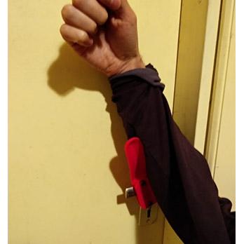 Adaptador para abrir puertas con el brazo 5