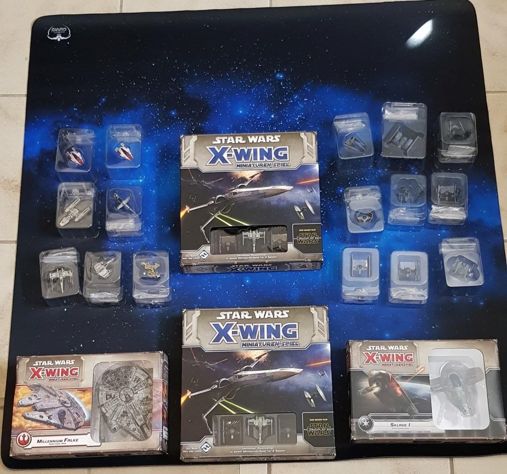 [Biete] X-Wing Sammlung, 1st Edition 20200410