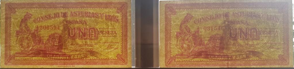 Billete Consejo de Asturias y León variante papel 1 peseta 1_pese10