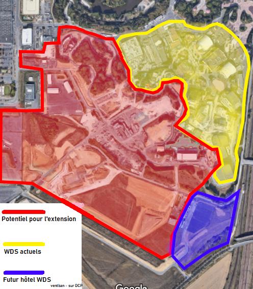 Extension du Parc Walt Disney Studios avec nouvelles zones autour d'un lac (2022-2025) - Page 3 Potent10