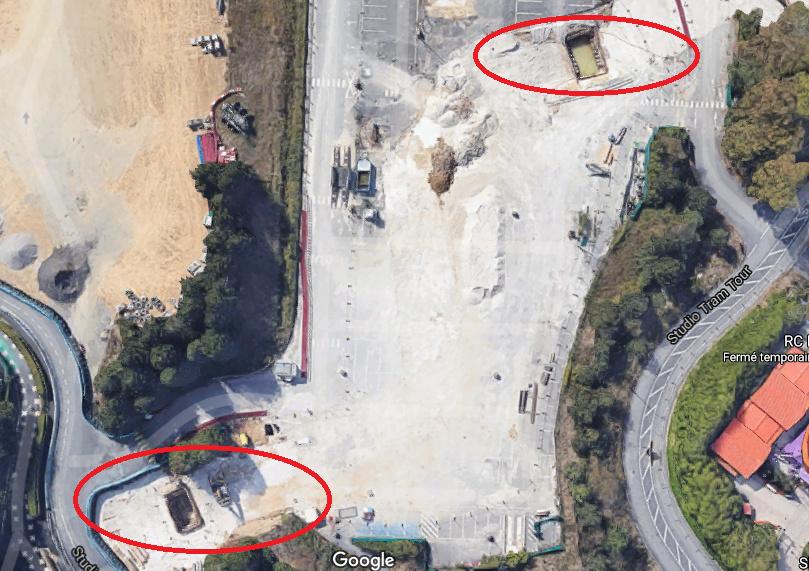 Extension du Parc Walt Disney Studios avec nouvelles zones autour d'un lac (2022-2025) Trous_10