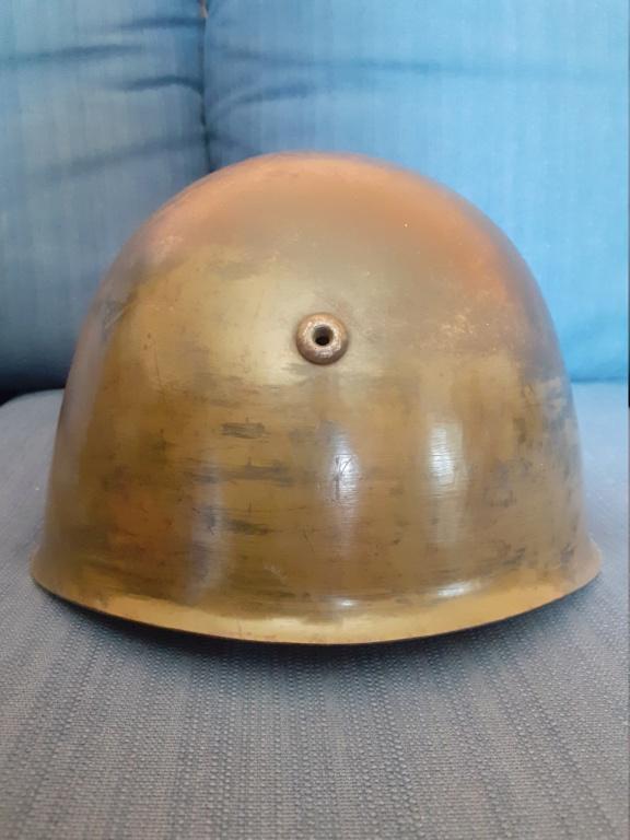 Identification insigne casque italien ww2  20210463